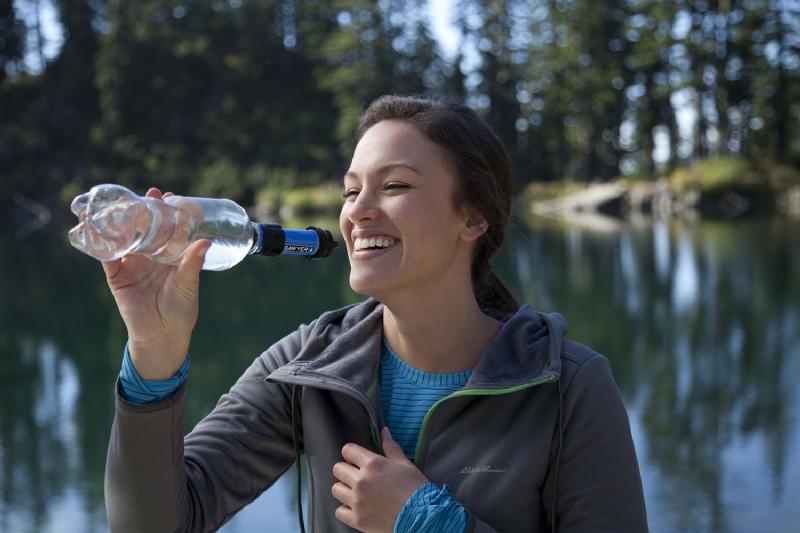 sawyer mini pointone wasserfilter für outdoor camping wasseraufbereitung